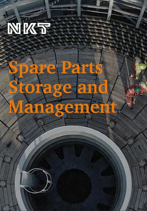 Sparte Parts Storage and Management Flyer, Sparte Parts Storage and Management Flyer