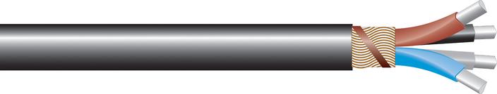 Image of AL 4-core waveform-LSOH Cu sne cable