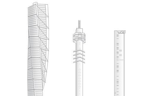Image of NKT 3 Towers drawing